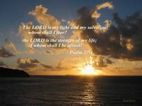 Psalm 27 1 The Lord Is My Light
