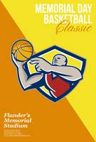 Memorial Day Basketball Classic Poster