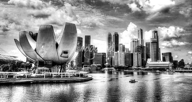 Urban landscape b w cityscape singapore 2013 by sghomedeco 2013