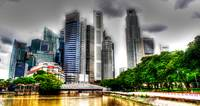 City Skyline Singapore 2013 - Urban Landscape Phot