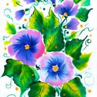 Violets Art Prints & Posters by Ekaterina Chernova