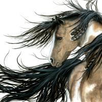 """Serenity Spirit Horse"" by AmyLynBihrle"