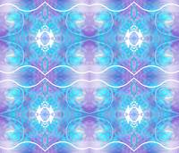 Blue and Purple Abstract II