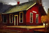 The Train Station by Kirt Tisdale