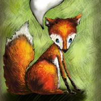 What the Fox Says Art Prints & Posters by Karin Hochstrasser