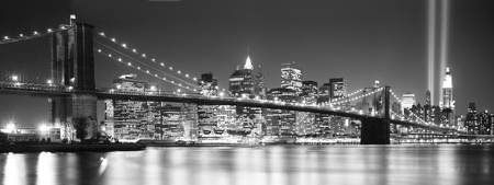 Brooklyn Bridge, New York, B&W