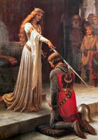 The Accolade. Edmund Blair Leighton