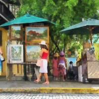 """Art Show in San Juan"" by susansartgallery"