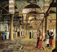 Public Prayer in the Mosque of Amr, Cairo 1870
