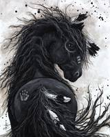 Fancy Friesian - Majestic Horse