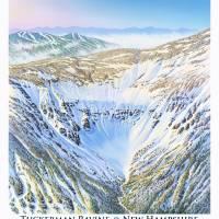 """Tuckerman Revine, New Hampshire"" by jamesniehuesmaps"