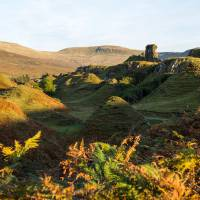 Autumn in the Fairy Glen Art Prints & Posters by Gordon Willoughby