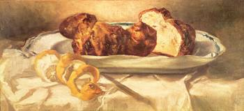 Still life with brioches and lemon, 1873