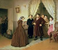 The Governess Arriving at the Merchant's House, 1