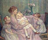 Madame van de Velde and her Children, 1903
