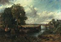 View of the Stour near Dedham, 1822