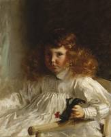 Portrait of Leroy King as a Young Boy, 1888