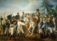 Napoleon and the Bavarian and Wurttemberg troops i