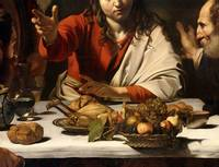 The Supper at Emmaus, 1601
