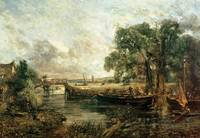 Sketch for 'View on the Stour, near Dedham' 1821