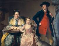 James and Mary Shuttleworth with one of their Daug
