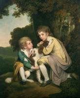 Thomas and Joseph Pickford as Children, c.1777-9