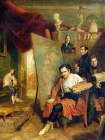 In the studio of the painter, 1832