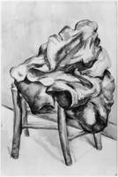 Drapery on a Chair, 1980 1900