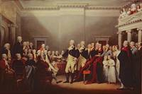 The Resignation of George Washington on 23rd Decem
