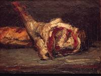 Still Life of a Leg of Mutton and Bread, 1865