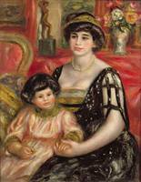 Madame Josse Bernheim Jeune and her Son Henry, 191