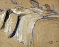 Woman lying on her Back Lassitude, study for Elles