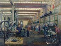 The Moscow Cycle Works, c.1930