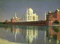 The Taj Mahal, 1874-76