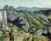 Rocks at LEstaque, 1879 82