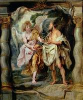 The Prophet Elijah and the Angel in the Wilderness