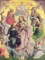 Central panel from the St. Thomas Altarpiece, 1501