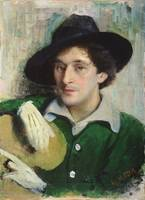 Portrait of Marc Chagall, c.1910