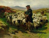The Highland Shepherd, 1859