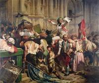 The Conquerors of the Bastille before the Hotel de