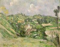 Auvers sur Oise, seen from the Val Harme, 1879 82