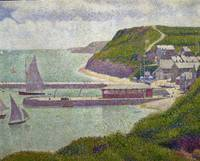 Harbour at Port en Bessin at High Tide, 1888