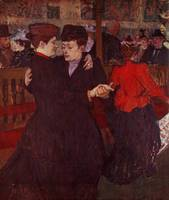 At the Moulin Rouge: The Two Waltzers, 1892