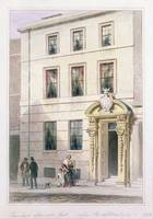 The New Front of Painter Stainers Hall, 1850