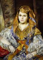 Mme. Clementine Stora in Algerian Dress, or Algeri