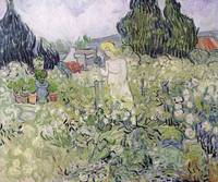 Mademoiselle Gachet in her garden at Auvers sur Oi