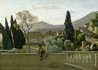 The Gardens of the Villa d'Este, Tivoli, 1843