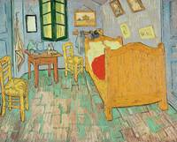 Van Goghs Bedroom at Arles, 1889