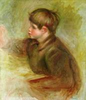 Portrait of Coco painting, c.1910 12