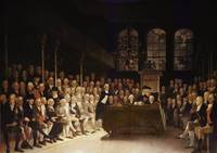 William Pitt addressing the House of Commons on th